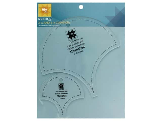 EZ Tools Clamshell Template 3 in.  & 4 in.