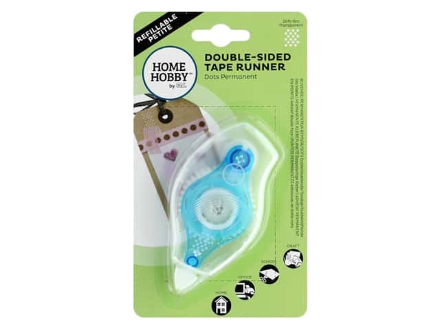 Home Hobby by 3L - Double-Sided Tape Runner - Refillable Petite
