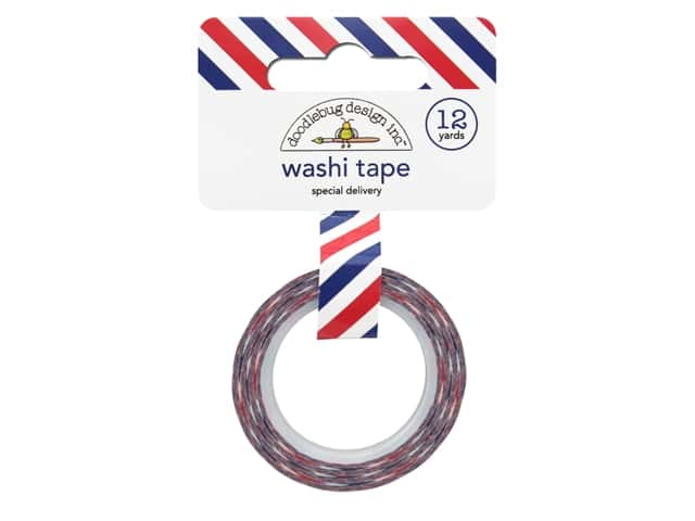 Doodlebug Washi Tape French Kiss Special Delivery 12yd