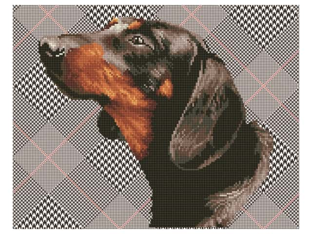 Diamond Dotz Facet Art Kit Intermediate Noble Dachsie