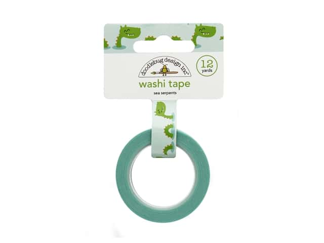 Doodlebug Collection Dragon Tails Washi Tape Sea Serpents