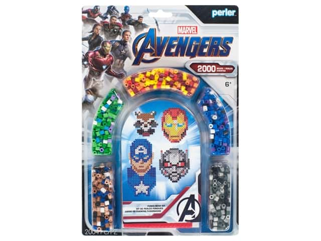 Perler Fused Bead Kit Marvel Avengers 4 2000pc