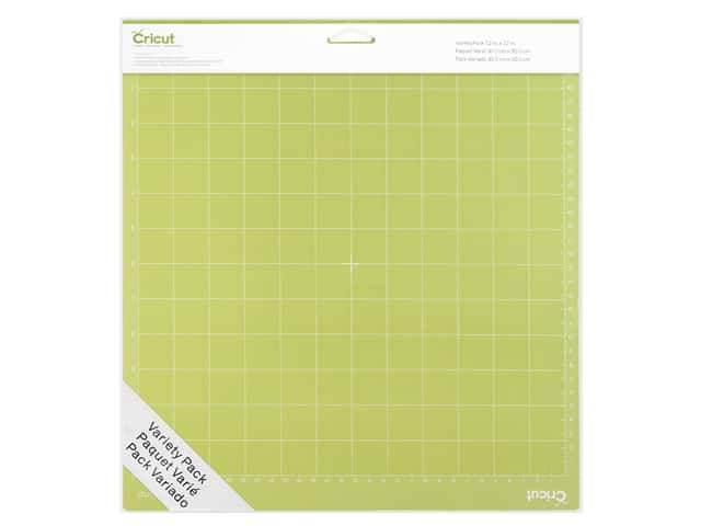 Cricut Maker And Explore Air 2 Accessories Cutting Mat 12 in. x 12 in. Variety Pack 3 pc