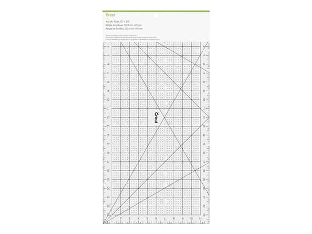 Cricut Acrylic Ruler 12 in. x 24 in. Clear