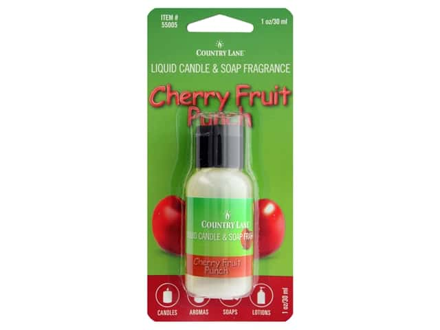 Country Lane Liquid Candle & Soap Fragrance Cherry Fruit Punch 1 oz