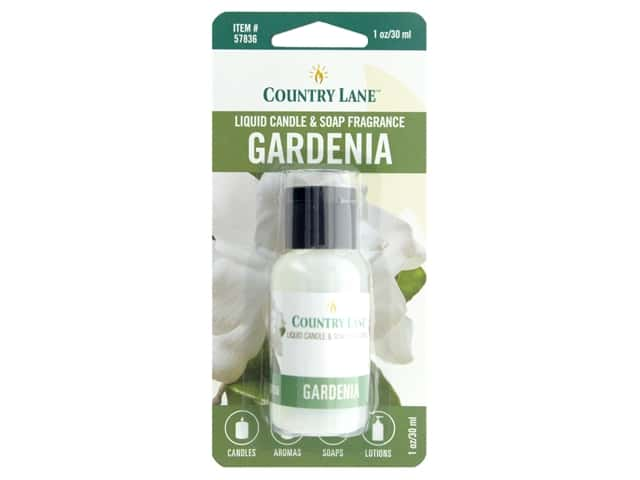 Country Lane Liquid Candle & Soap Fragrance Gardenia 1 oz
