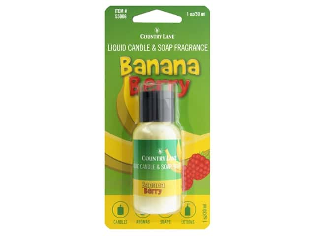 Country Lane Liquid Candle & Soap Fragrance Banana Berry 1 oz