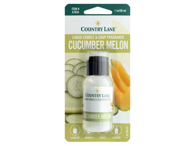 Country Lane Liquid Candle & Soap Fragrance Cucumber Melon 1 oz