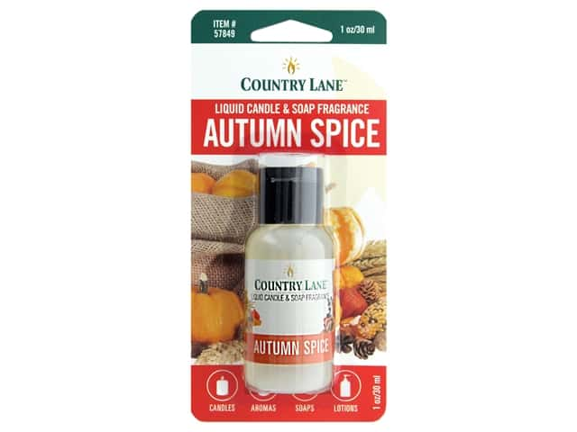 Country Lane Liquid Candle & Soap Fragrance Autumn Spice 1 oz