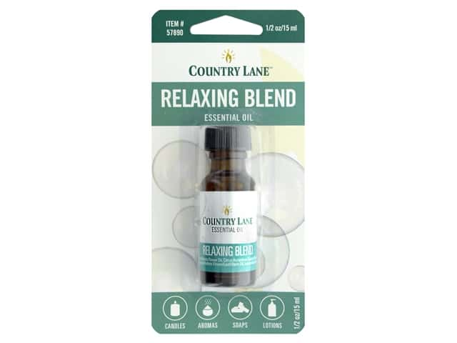 Country Lane Essential Oils Relaxing Blend .5 oz