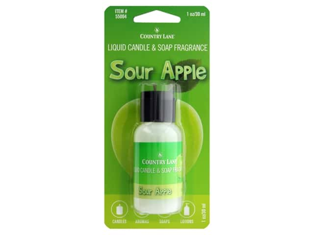 Country Lane Liquid Candle & Soap Fragrance Sour Apple 1 oz