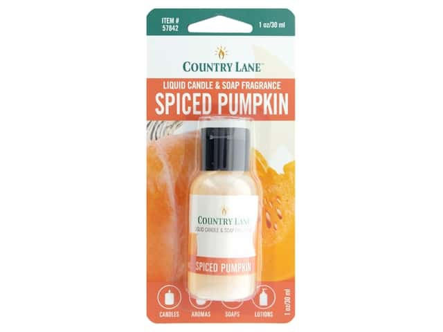 Country Lane Liquid Candle & Soap Fragrance Spiced Pumpkin 1 oz