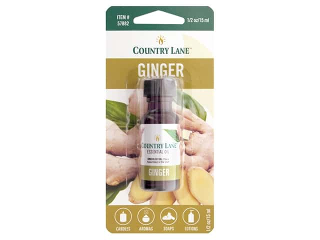 Country Lane Essential Oils Ginger .5 oz