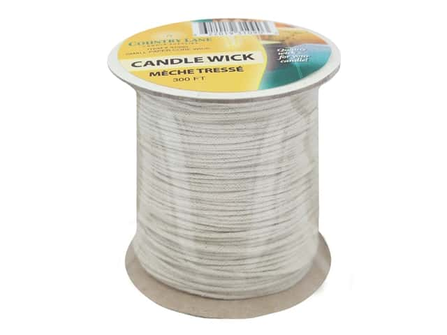Country Lane Candle Wick Paper Core Small 300' Spool