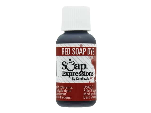 Soap Expressions Dye Red .5 oz