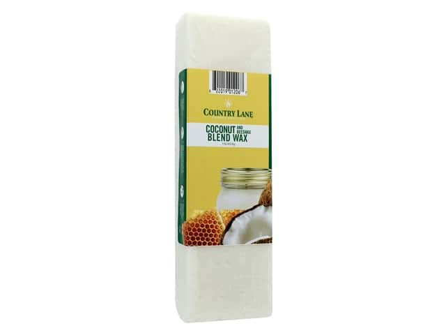 Country Lane Wax Coconut & Beeswax Blend 1lb