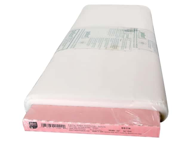 "Pellon Interfacing Easy Shaper Fusible 20""x 30yd White"