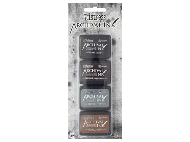 Ranger Tim Holtz Distress Archival Mini Ink Kit #3