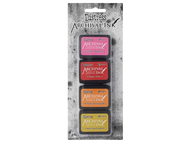 Ranger Tim Holtz Distress Archival Mini Ink Kit #1