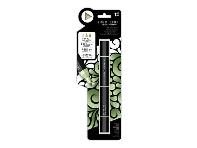 Crafter's Companion Spectrum Noir Tri Blend Marker Dull Green