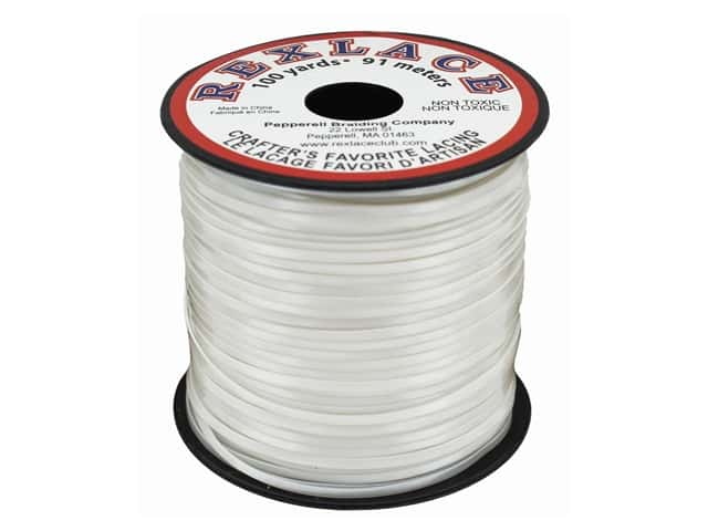 Pepperell Rexlace Craft Lace 100 yd. Pearl