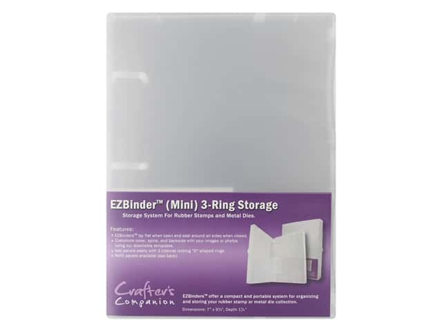 Crafter's Companion EZ Mount Storage Binder Mini