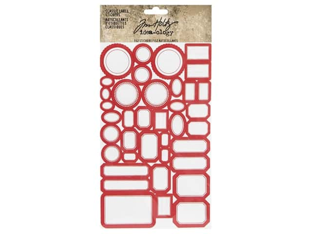 Tim Holtz Idea-ology Classic Label Sticker