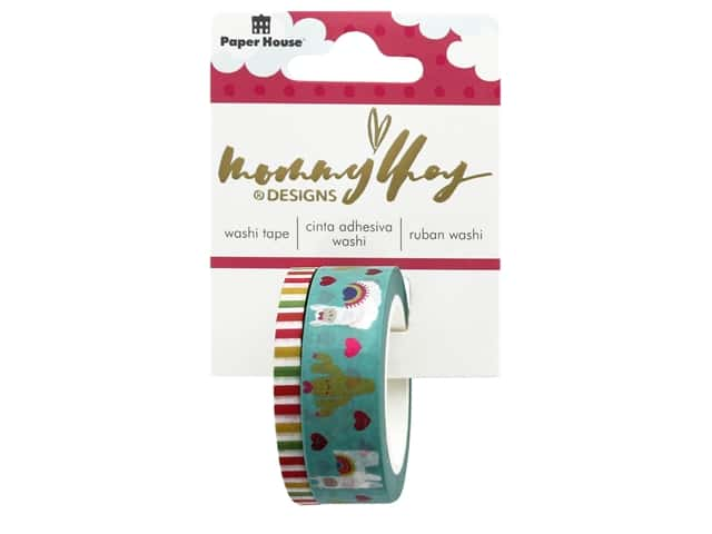 Paper House Washi Tape Mommy Lhey Llama