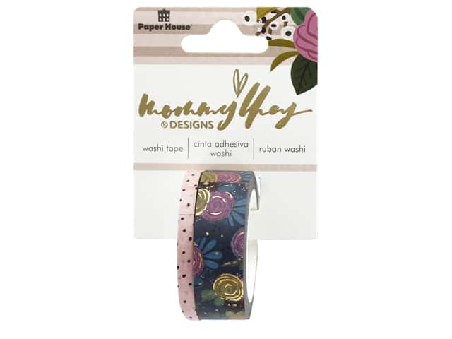 Paper House Washi Tape Mommy Lhey Blush