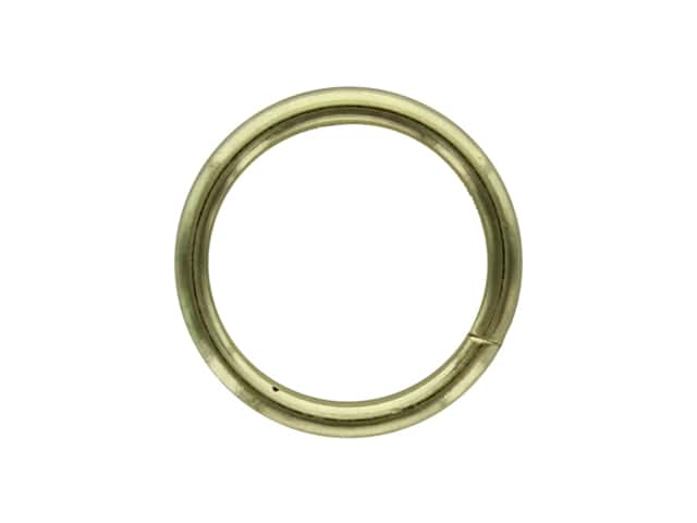 Darice Metal Ring 1 in. Gold