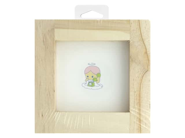 Darice Wood Frame Unfinished 3 in. x 3 in.