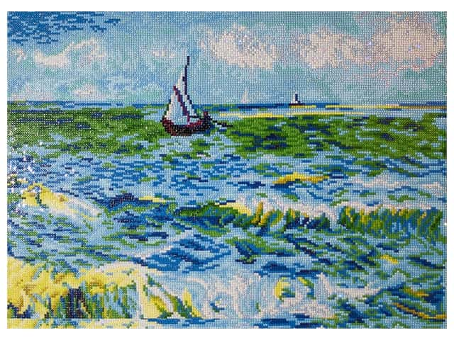 Diamond Dotz Facet Art Kit Advanced Seascape At St Maries Van Gogh