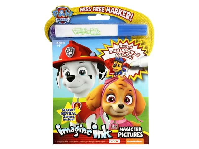 Paw Patrol Imagine Ink Magic Ink Pictures Book