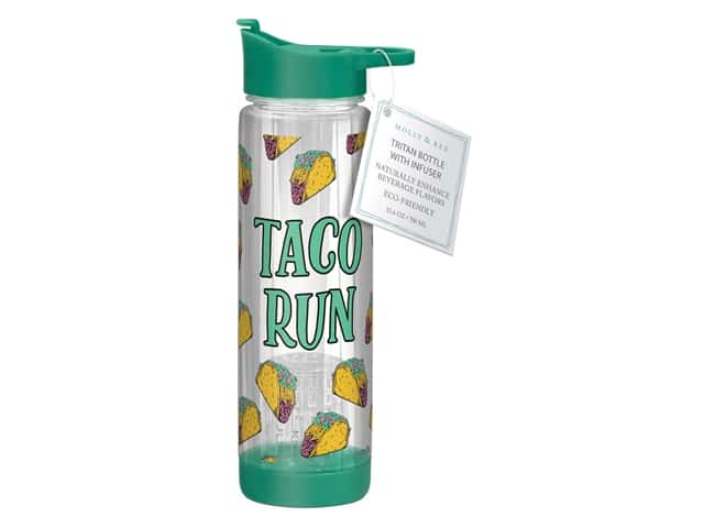 Molly & Rex Hydration Bottle Taco Run 23.6 oz