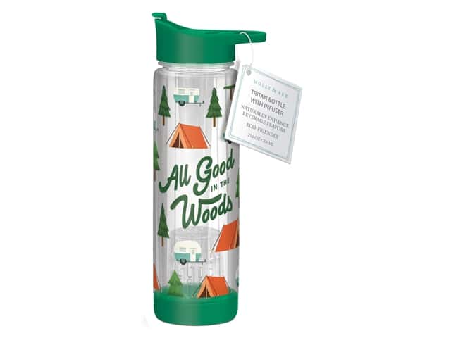 Molly & Rex Hydration Bottle All Good In The Woods 23.6 oz