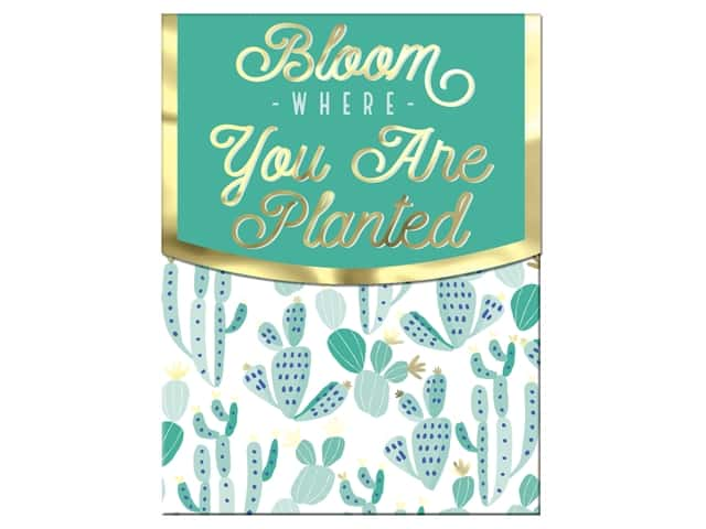 Molly & Rex Note Pocket Pad Folk Wonderland Bloom Where You Are Planted