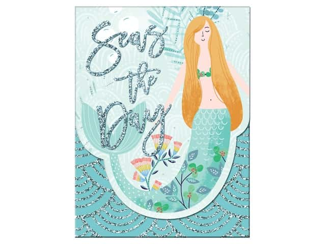 Molly & Rex Note Pocket Pad Folk Wonderland Seas The Day