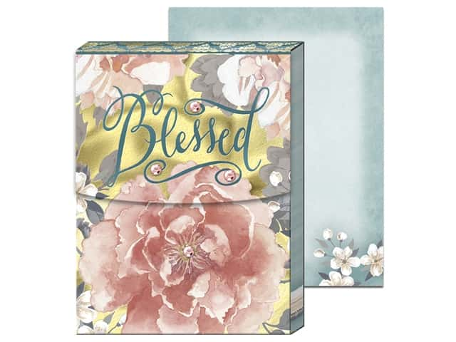 Punch Studio Note Pad Pocket Blessed