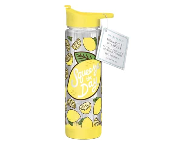 Molly & Rex Hydration Bottle Squeeze The Day 23.6 oz