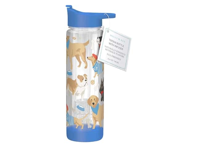 Molly & Rex Hydration Bottle Dog Show 23.6 oz