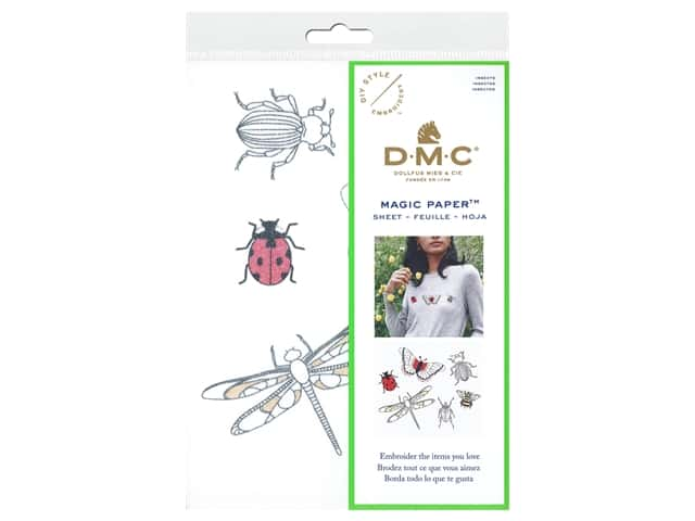 DMC Magic Paper Embroidery Insects