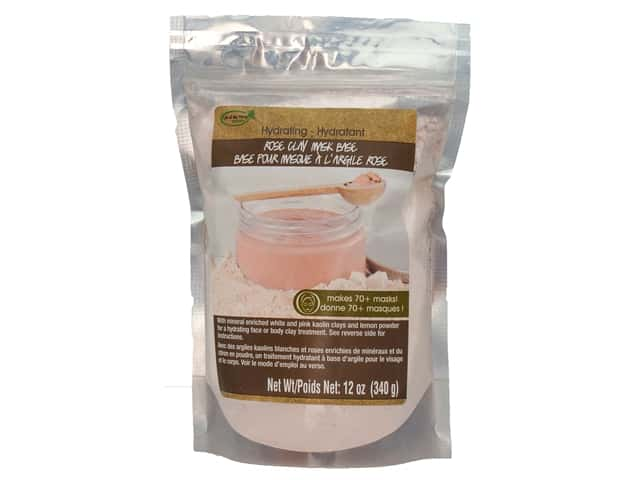 Life Of The Party Clay Mask Base 12 oz. Rose Hydrating