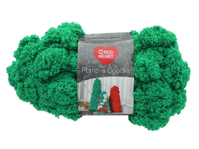 Coats & Clark Red Heart Pomp A Doodle Yarn 3.5 oz Jolly