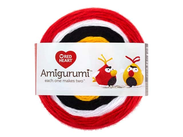 Red Heart Amigurumi Yarn 239 yd. Bird