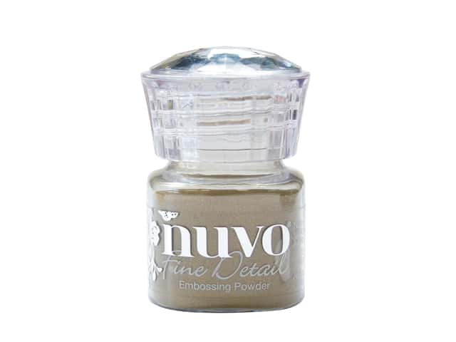 Nuvo Embossing Powder Fine Detail Classic Gold .68 oz