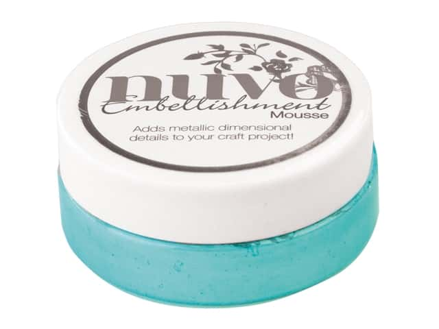 Nuvo Embellishment Mousse 2.2 oz. Coastal Surf