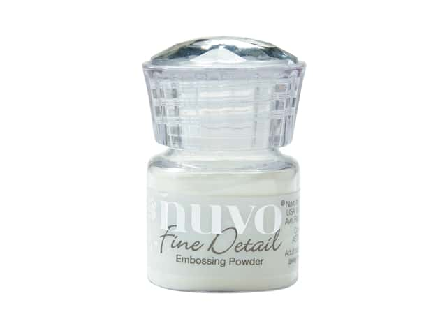 Nuvo Embossing Powder Fine Detail Crystal Clear .68 oz
