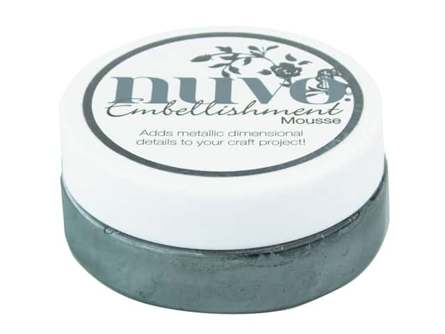 Nuvo Embellishment Mousse 2.2 oz. Gunmetal Grey
