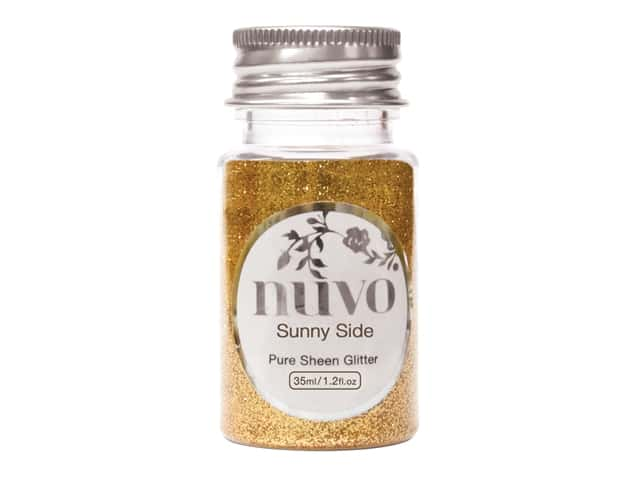 Nuvo Pure Sheen Glitter 1.2 oz. Sunny Side