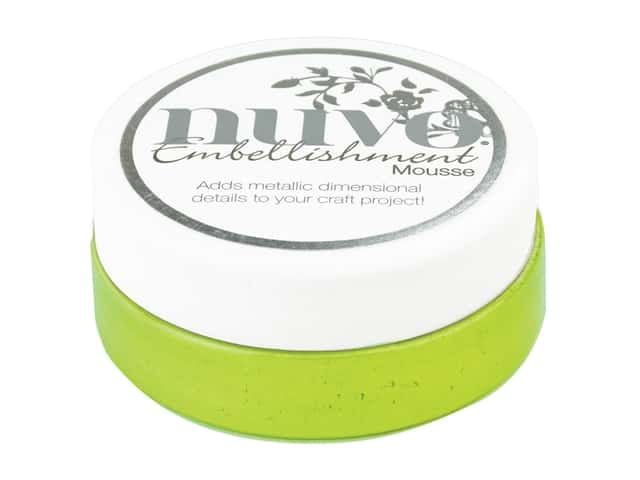 Nuvo Embellishment Mousse 2.2 oz. Citrus Green